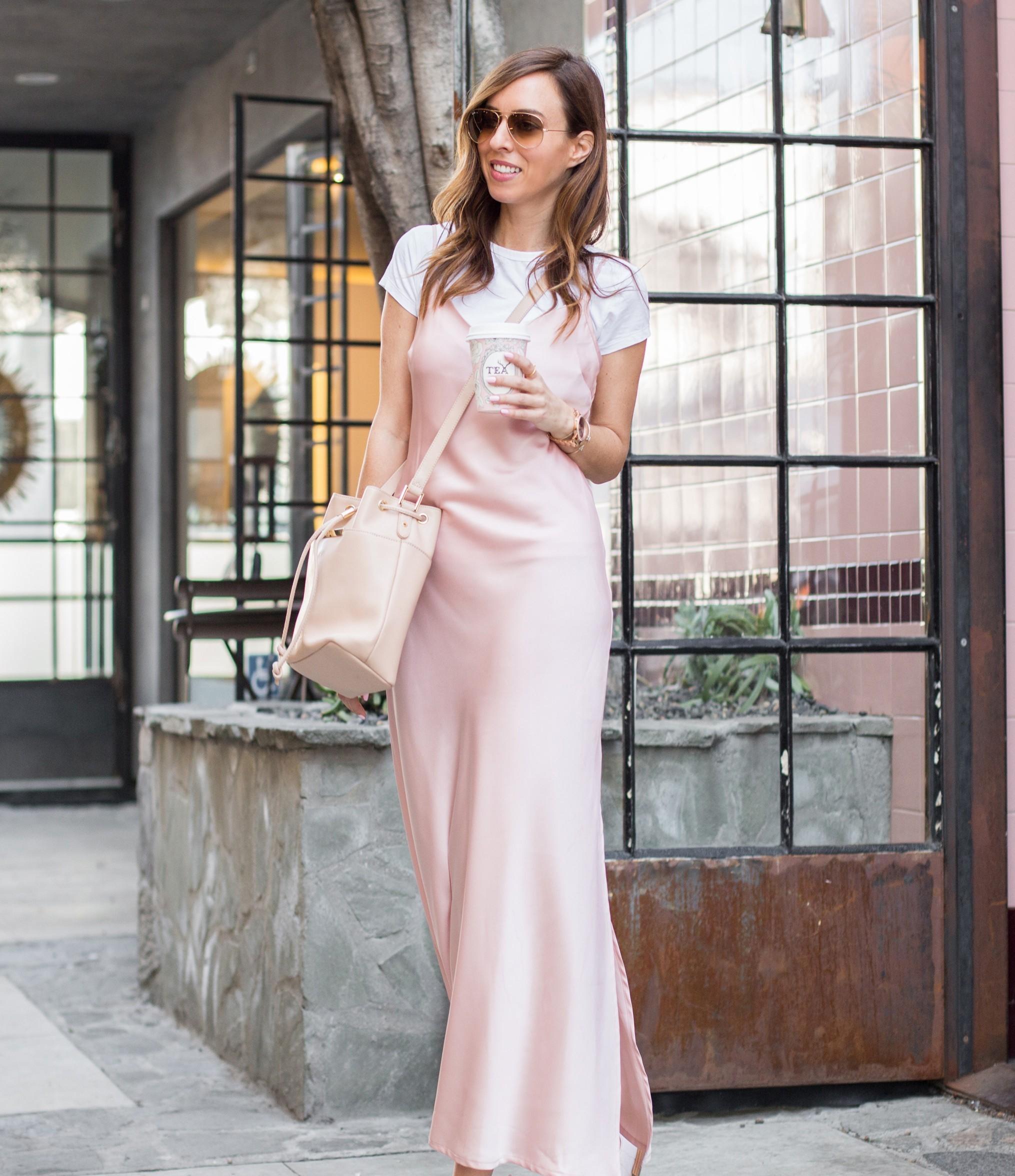 quyến rũ với đầm slip dress