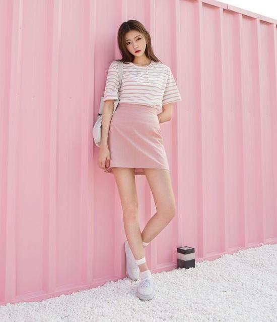 màu hồng trẻ trung ngọt ngào