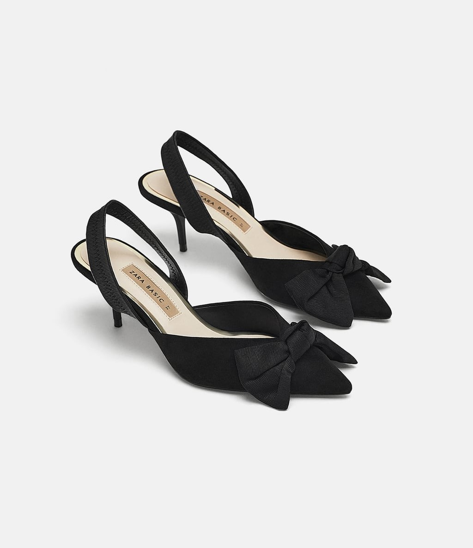 Sang chảnh sành điệu với giày nữ tính dính nơ