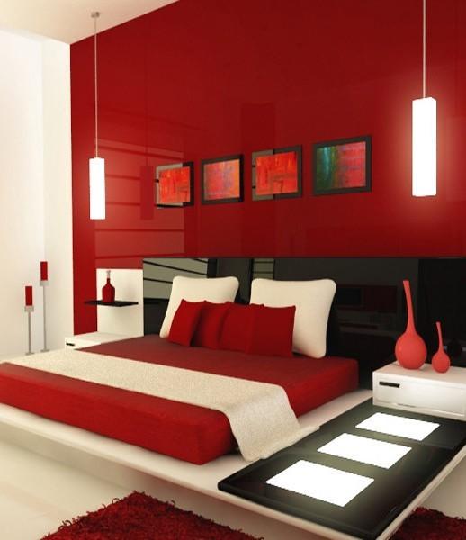 Không gian phòng ngủ nổi bật cho vợ chồng