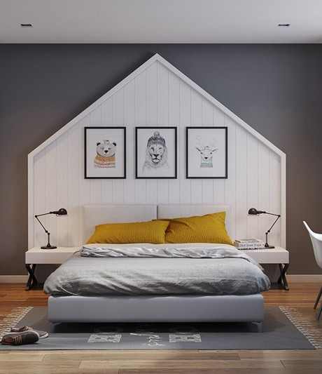 Ý tưởng làm đẹp đầu giường cho không gian nghỉ ngơi của các bé