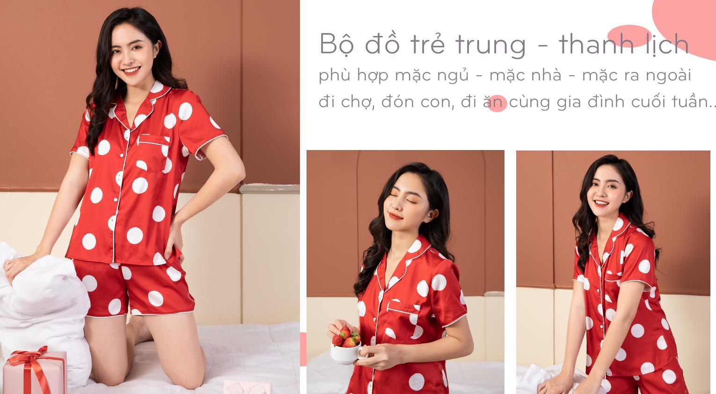 Bộ đồ pijama nhiều màu Vingo