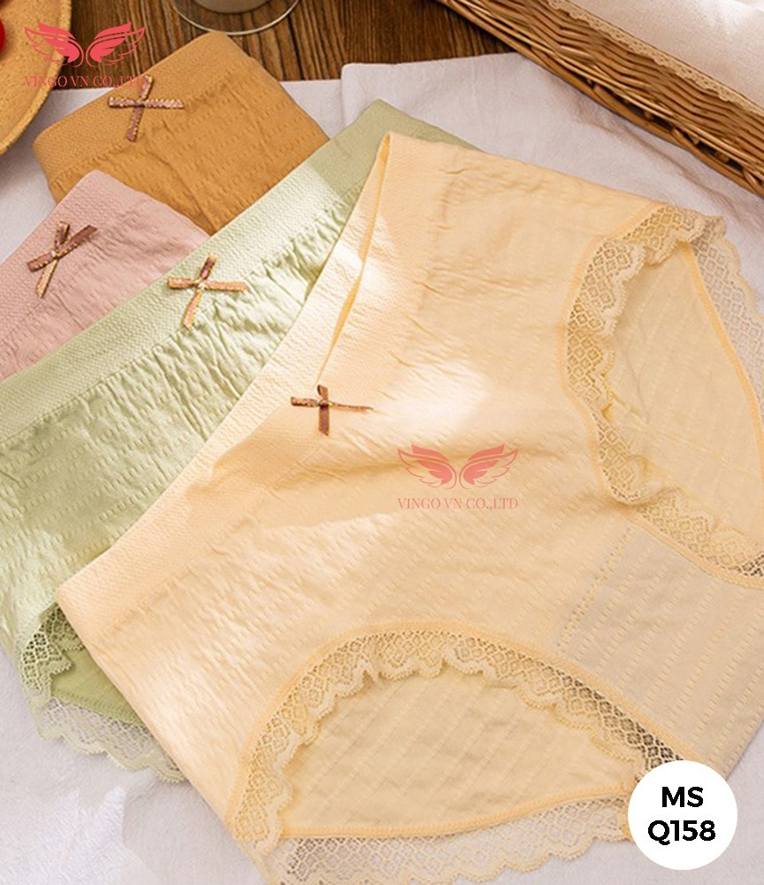 quần lót cotton nữ kháng khuẩn Q158 vingo