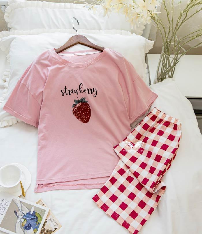 Bộ đồ mặc nhà cotton C023 Vingo