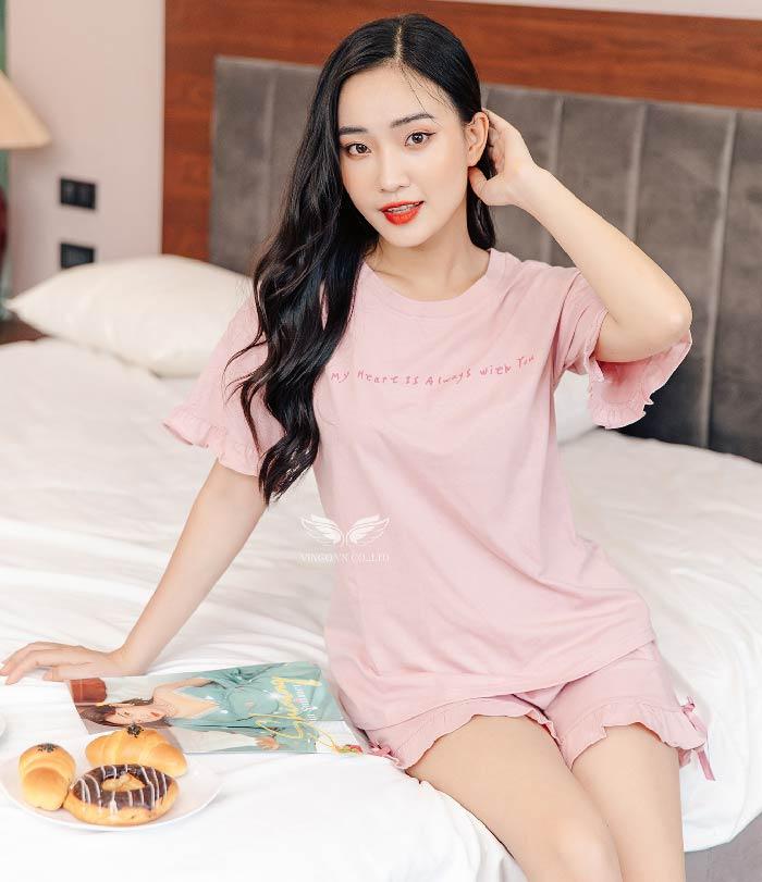 Đồ bộ mặc nhà cotton C023