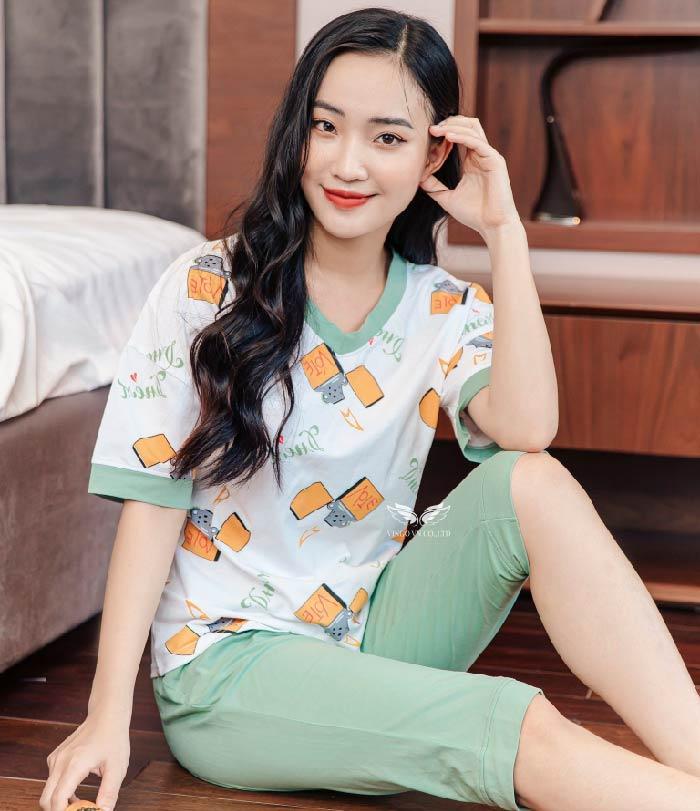 đồ bộ mặc nhà cotton C019 vingo