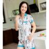 Bo pijama ngan cao cap H437