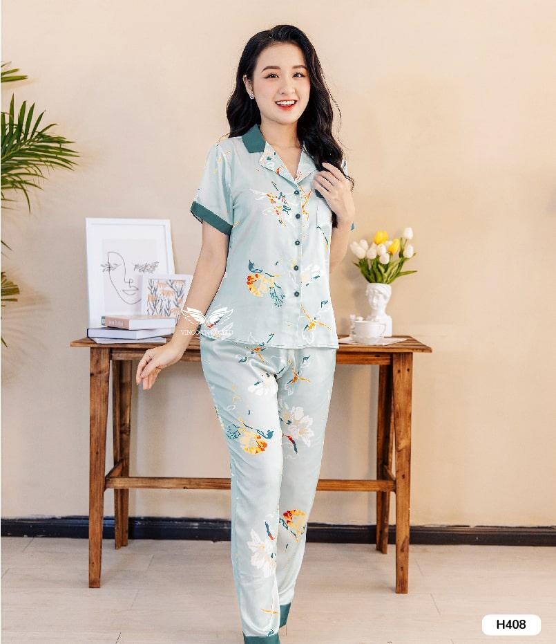 pijama lụa H408